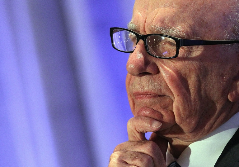<p>Rupert Murdoch is the chairman and chief executive of News Corporation, one of the world's biggest media empires.</p>