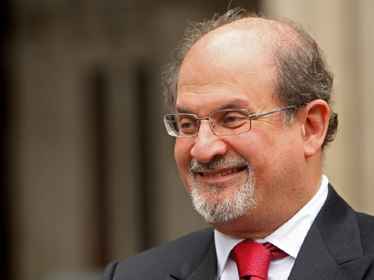 <p>Indian-British novelist Salman Rushdie arrives at the High Court on August 26, 2008 in London, England. Salman Rushdie is suing John Blake Publishing Ltd over alegations against himself and his ex-wife in the memiors of Ron Evans, one of his former Special Branch bodyguards.</p>
