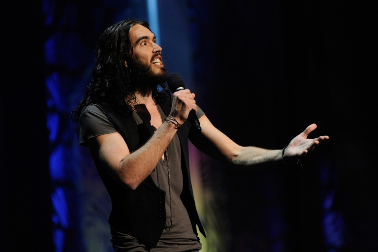 <p>British comedian Russell Brand is rumored to be dating