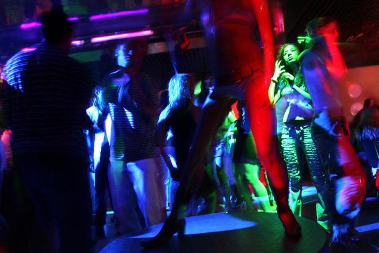 <p>A night club.</p>