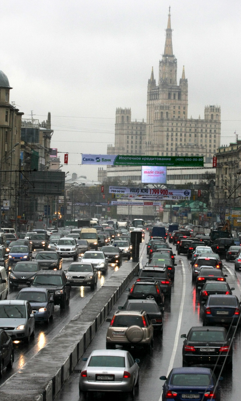 <p>A hacker brought Moscow traffic to a standstill with rush hour porn stunt.</p>