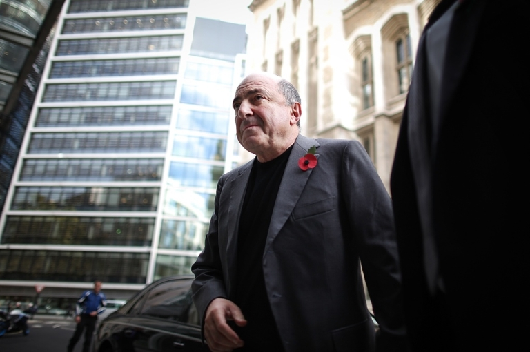 <p>Russian businessman Boris Berezovsky at the High Court in London amid his multimillion dollar breach-of-contract case against oligarch Roman Abramovich. Berezovsky lost the case against Abramovich in a stunning defeat worth roughly $6.8 billion.</p>