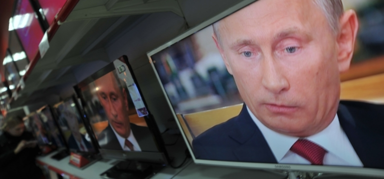 """<p>Putin said one prominent independent radio station was """"pouring diarrhea"""" all over him """"from morning to night.""""</p>"""
