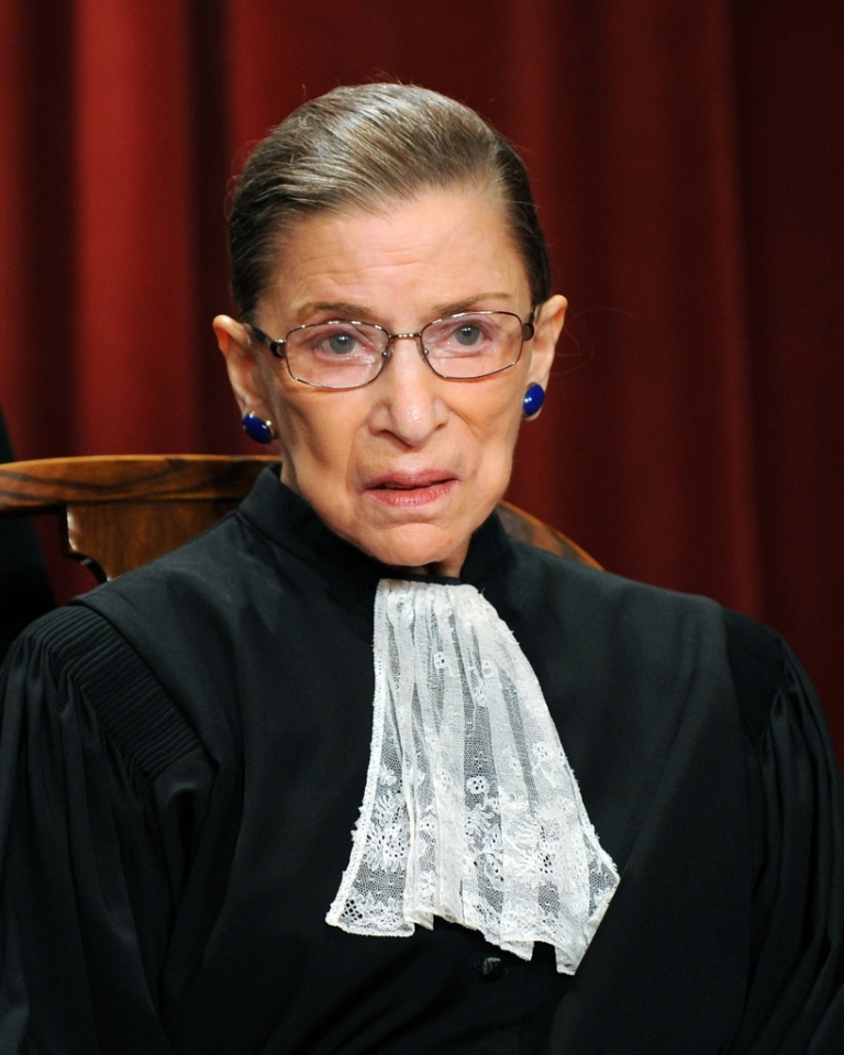 <p>US Supreme Court Justice Ruth Bader Ginsburg participates in the courts official photo session on October 8, 2010, at the Supreme Court in Washington, DC. Ginsburg underwent surgery related to pancreatic cancer in 2009.</p>
