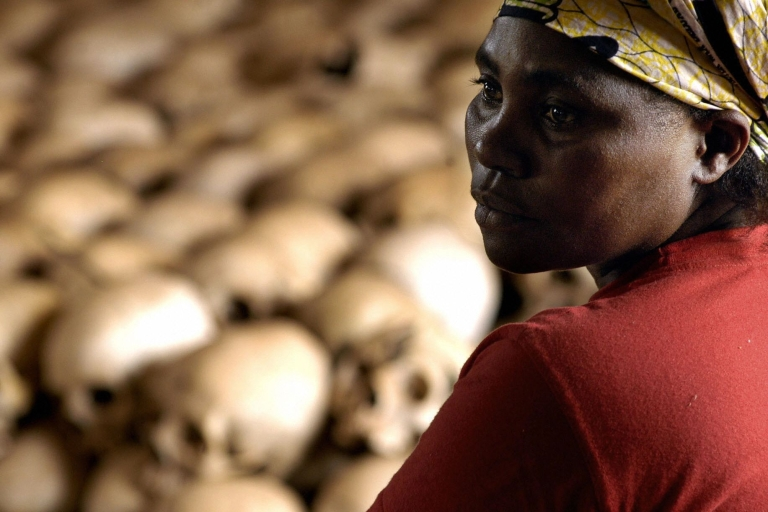<p>Hutu militias killed between 800,000 and one million Tutsis and moderate Hutus during the 1994 genocide in Rwanda.</p>