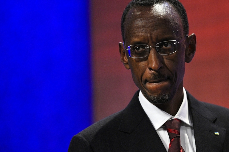 <p>Rwandan President Paul Kagame has said he has no problem with calls to change his country's constitution to allow him a third term.</p>