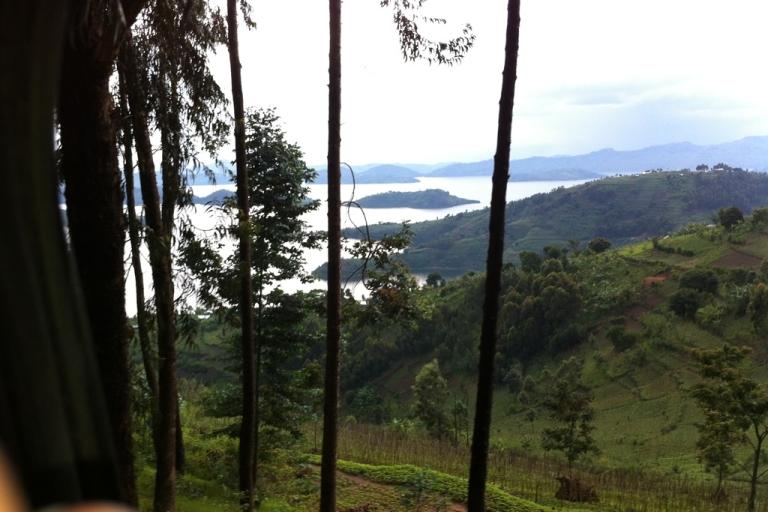 <p>View of Lake Burera in northern Rwanda.</p>