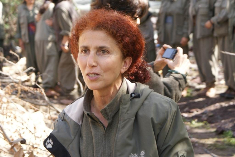 <p>This undated picture shows Sakine Cansiz, a member of the outlawed Kurdistan Worker's Party (PKK). Sakine Cansiz was one of the three Kurdish women who were shot dead overnight on Jan. 10, 2013 in Paris, in what France's interior minister dubbed an 'assassination.'</p>