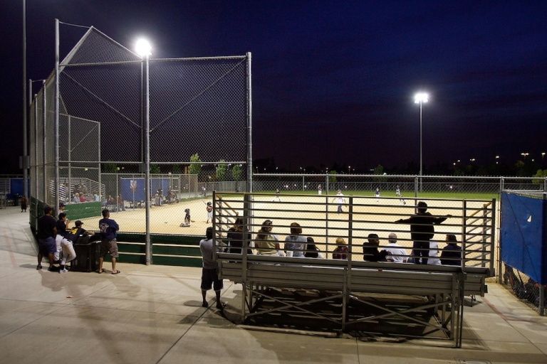 <p>A Florida umpire ejected a 21-year-old music intern from a minor league game in Daytona Beach on Wednesday after he used the loudspeakers to play