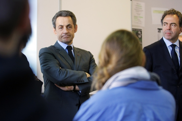 <p>Sarkozy: back on top?</p>