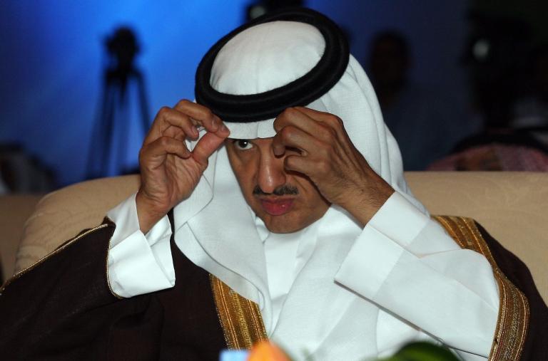 <p>Prince Sultan bin Salman bin Abdul Aziz al-Saud at the Applied Media Institute in Riyadh on April 27, 2008.</p>