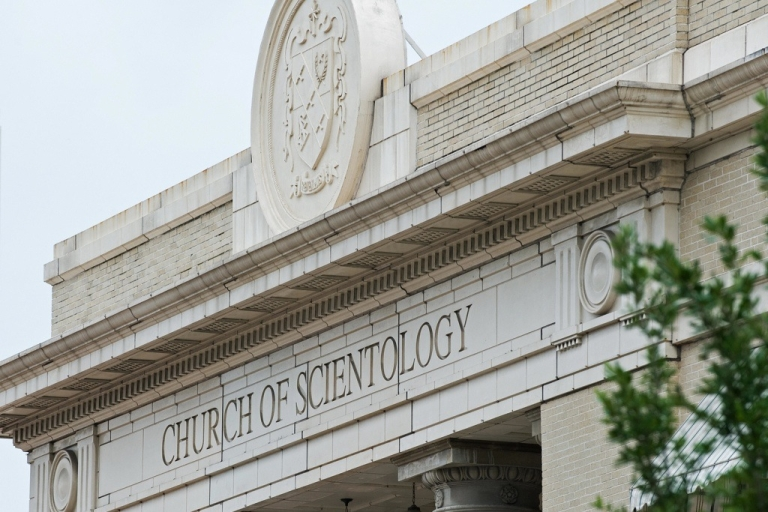 <p>Church of Scientology in Clearwater, Florida.</p>