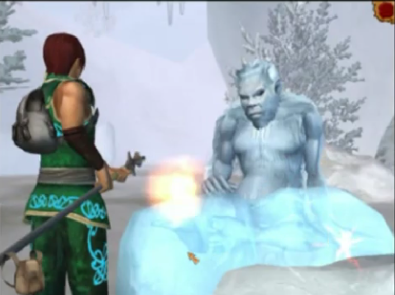 <p>A screengrab of the SPARX videogame aimed at helping teens overcome depression.</p>
