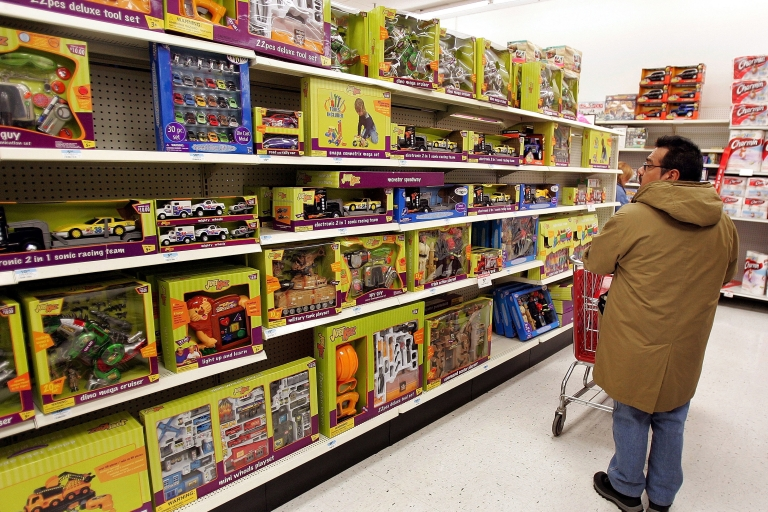 <p>Anonymous Secret Santas across the country are paying off Kmart layaway accounts that have toys and children's clothing.</p>