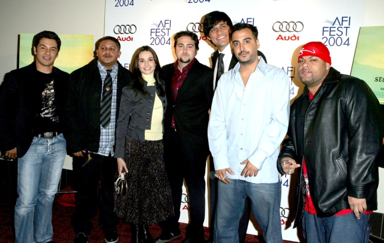 <p>The cast of the 2005 film Secuestro Express (Express Kidnap) which highlighted the problems of security in Venezuela. (Photo by Frazer Harrison/Getty Images)</p>