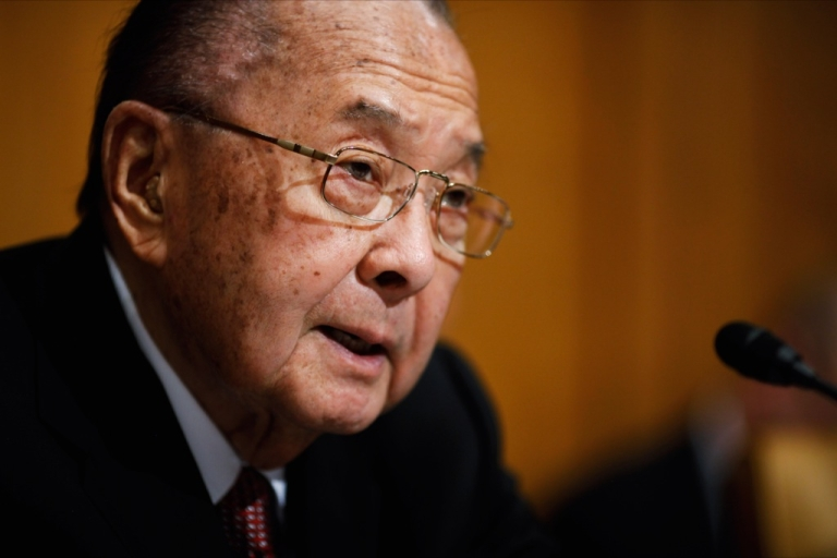 <p>Sen. Daniel Inouye died of respiratory complications on December 17, 2012. The Democrat from Hawaii was the chairman of the Senate Appropriations Committee Defense Subcommittee .</p>