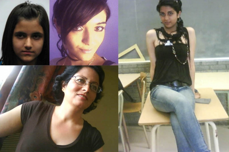 <p>From top, left, the Shafia sisters -- Geeti, Zainab and Sahar -- died together with Rona Amir Mohammad, bottom left. The girls' father, mother and brother were convicted of first-degree murder in the deaths.</p>
