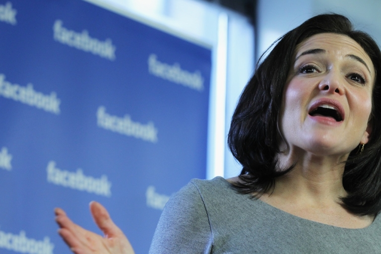 <p>Sheryl Sandberg is the first woman to be appointed to Facebook's seven-man board of directors.</p>