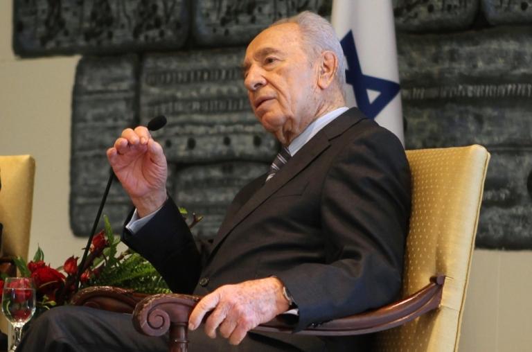 <p>Israeli President Shimon Peres.</p>
