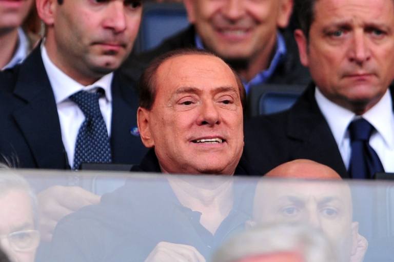 <p>Former Italian Prime Minister Silvio Berlusconi made a rare appearance in court on April 20, 2012 to hear prosecution witnesses in his trial for allegedly having sex with an underage prostitute and using his position to cover it up.</p>