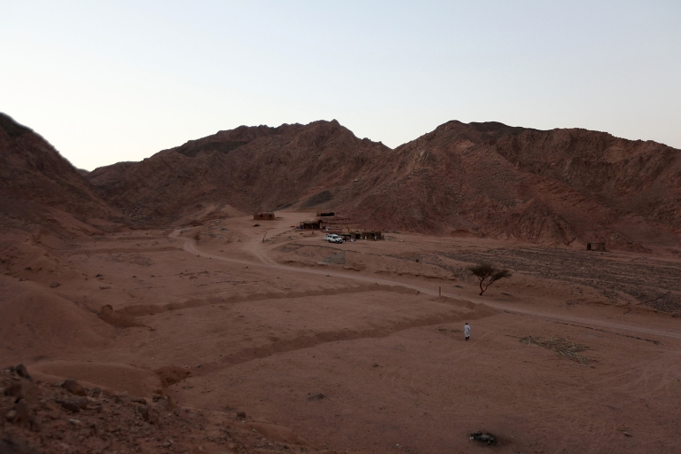 <p>The mountains are seen in June, 2009 in Dahab on Egypt's Sinai Peninsula.</p>