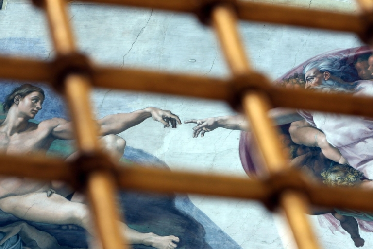 <p>The Sistine Chapel at the Vatican in Rome, Vatican City on January 11th, 2009.</p>