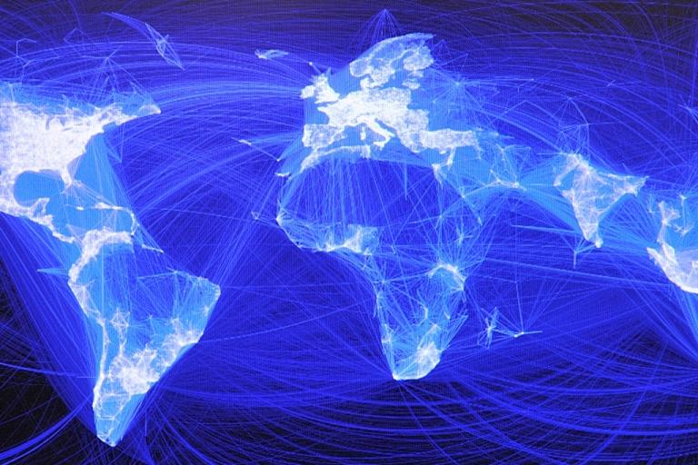 <p>Facebook's reach around the world.</p>