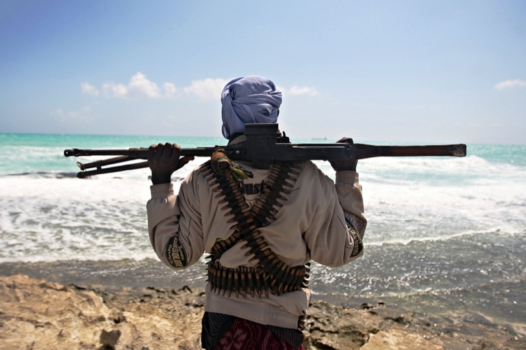 <p>An image from a fighter in Somalia on December 5, 2012.</p>