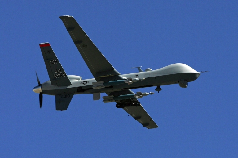 <p>U.S. drones targeted Al Shabaab militants in a series of attacks in Kismayo, Somalia this weekend.</p>