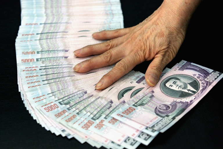 <p>SEOUL, SOUTH KOREA - A South Korean woman was offered $4.33 or 5,000 won as compensation for the death of her brother in the Korean War. (Photo by Chung Sung-Jun/Getty Images)</p>