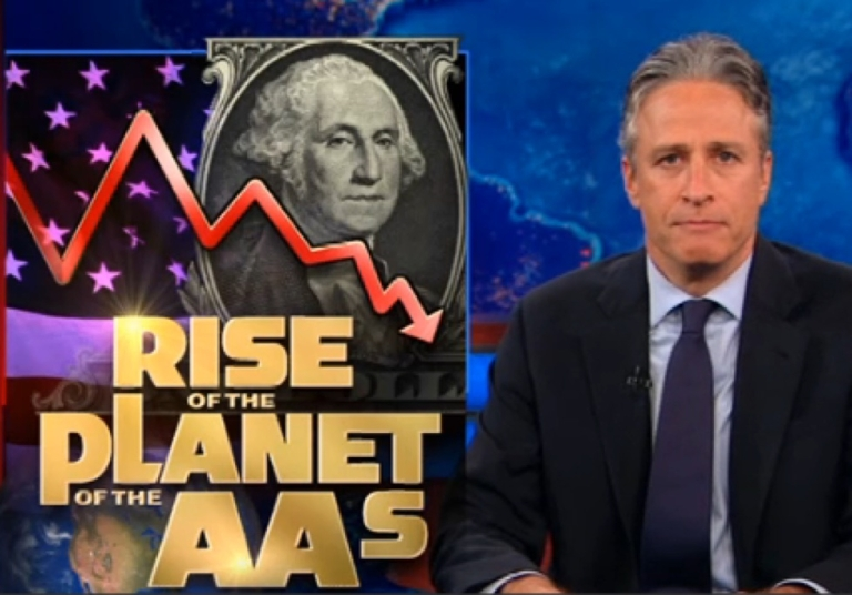 <p>As John Stewart points out, Standard &amp; Poor's means average and below average.</p>