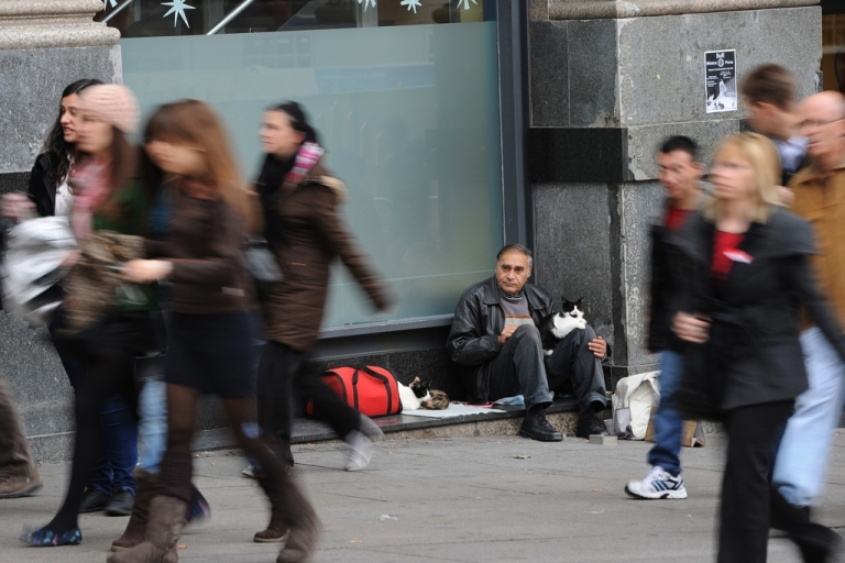 <p>Spain's unemployment rate, 23 percent, is the highest in Europe.</p>