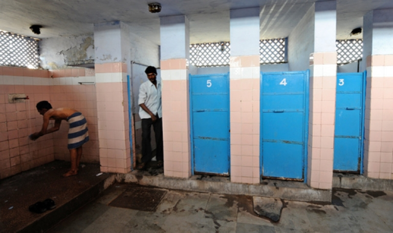 <p>Indian spies' next target? Spooks at India's National Technical Research Organisation (NTRO) are under fire for allegedly placing a hidden camera in the agency's women's bathroom.</p>