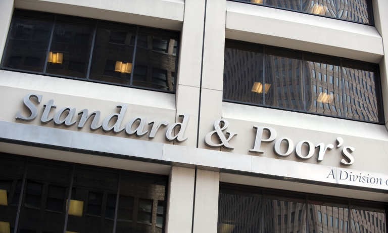 <p>The Standard &amp; Poor's office in New York City.</p>