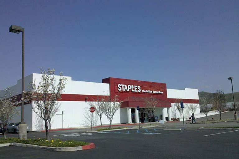 <p>Staples, office supply retailer, said Tuesday that it was closing 60 stores to save $250 million.</p>