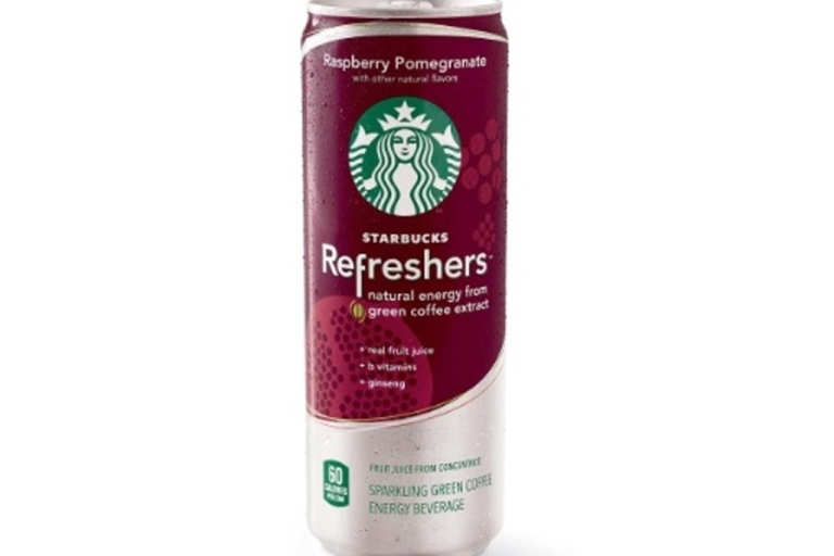 <p>Starbucks unveiled a new energy drink line March 22, 2012. Starbucks Refreshers, available now in select areas, come in three different flavors and are made with fruit juice and green coffee extract.</p>