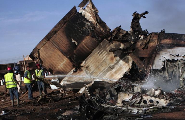<p>A plane crash in Sudan has killed 32 government officials.</p>