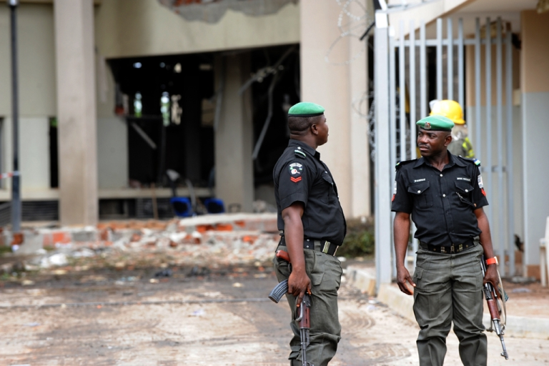 <p>Suicide bombers are now targeting military bases in Nigeria.</p>