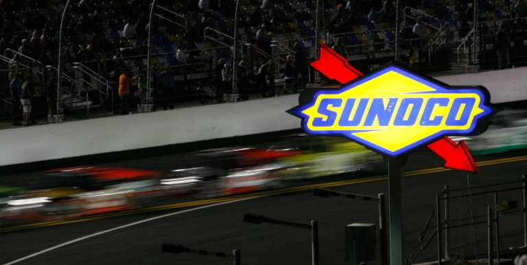 <p>Trucks race during the NASCAR Camping World Truck Series NextEra Energy Resources 250 at Daytona International Speedway in Daytona Beach, Fla., on Feb. 18, 2011.</p>