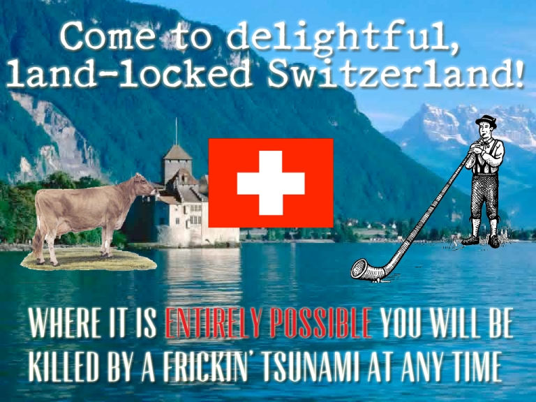 <p>The unexpected dangers of a lovely alpine vacation.</p>