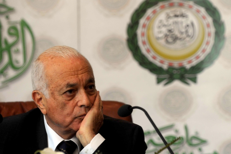 <p>Nabil al-Araby, Secretary General of the Arab League, optimistic during meetings in Damascus, while others doubt reforms are possible.</p>