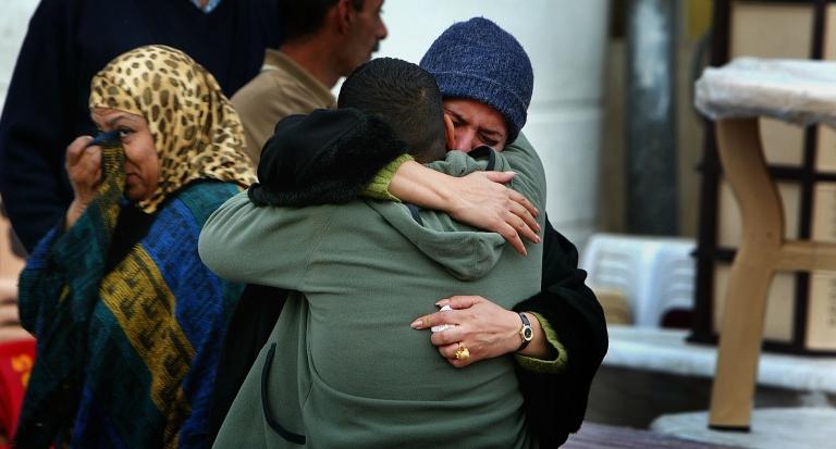 <p>Iraqi refugees returning from Syria to Iraq.</p>