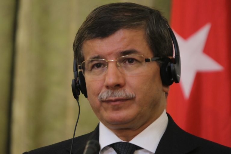 <p>Turkish Foreign Minister Ahmet Davutoglu will be eager for a positive response from Syria during their talks today</p>