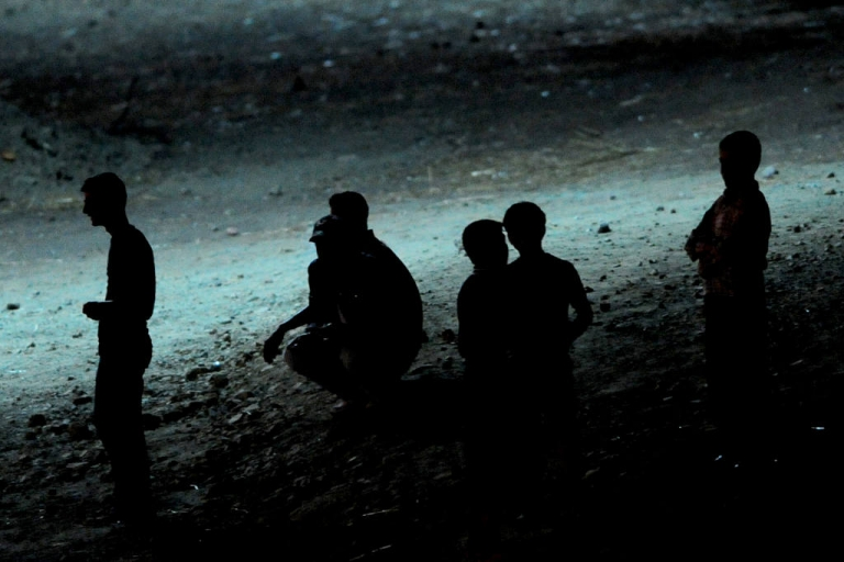 <p>Syrian refugees rest at the Turkish Red Crescent's second camp in the Yayladagi district of Hatay, two kilometers from the Syrian border, on June 19, 2011. Turkey has begun extending aid across its border with Syria to help people who have massed there fleeing unrest, the emergency situations agency said on June 19.</p>
