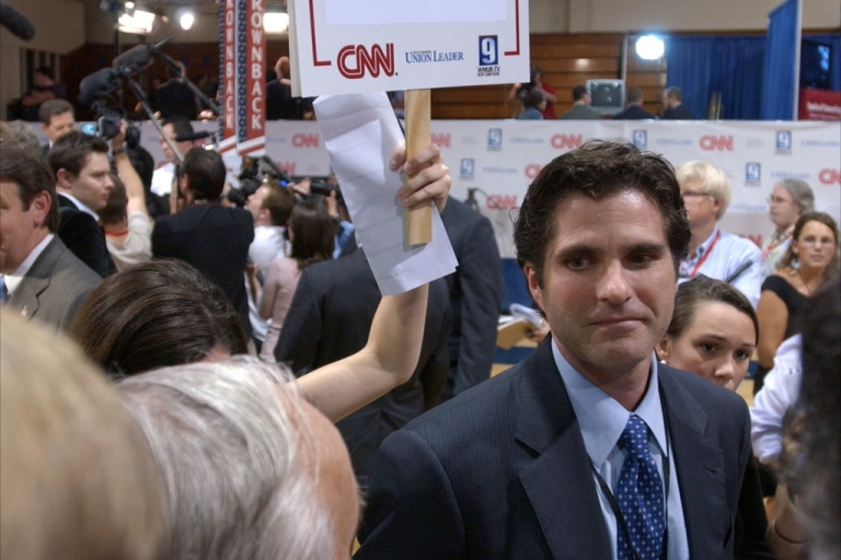 <p>Eldest son, Tagg Romney, 42, has taken on a high profile role on his father's campaign trail.</p>