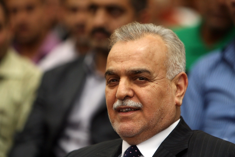 <p>An arrest warrant was issued for Iraq's vice president, Tareq al-Hashemi, following accusations of