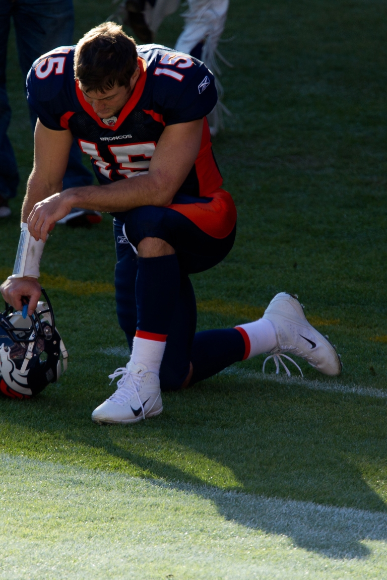 <p>Four Long Island high school students were suspended for mimicking Tim Tebow's prayer pose and causing a frenzy in the school hallways.</p>