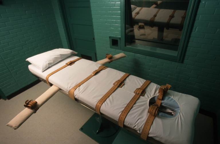 <p>The lethal injection chamber in Huntsville, Texas.</p>