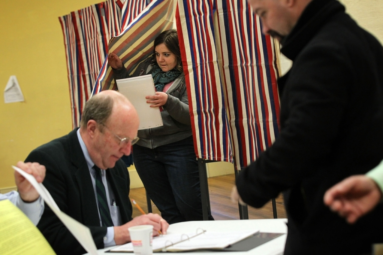 <p>A Texas law requiring voters to present IDs before casting their ballot was struck down by a federal court on August 30, 2012.</p>