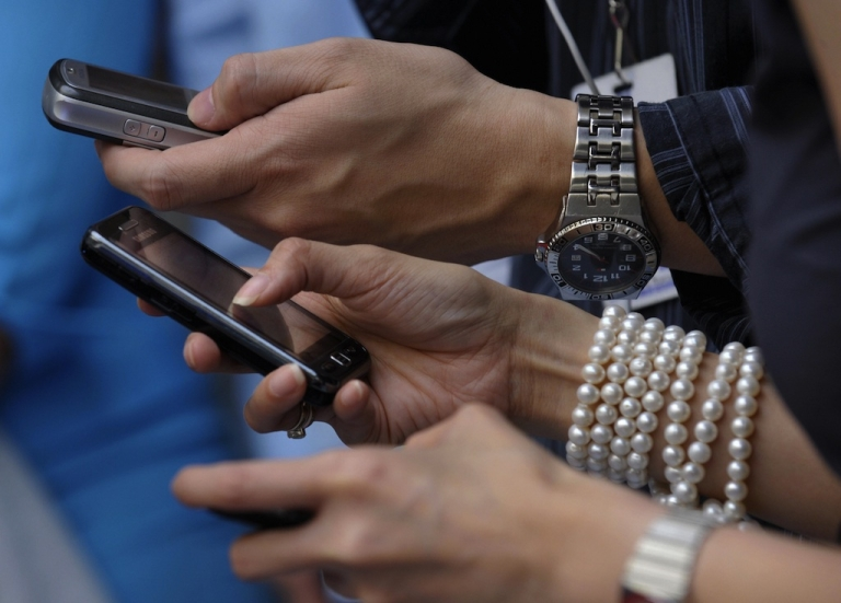 <p>An Ofcom study has found Britons prefer to text their friends and family.</p>